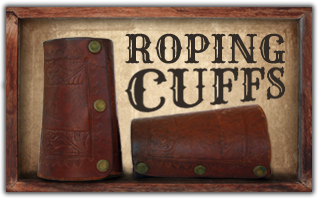 Ricochet Roy's Leather Roping Cuffs