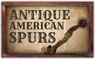 Ricochet Roy's Antique American Spurs
