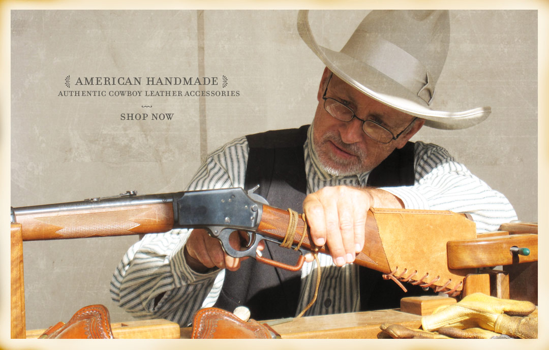Ricochet Roy's American Handmade Authentic Cowboy Leather Accessories